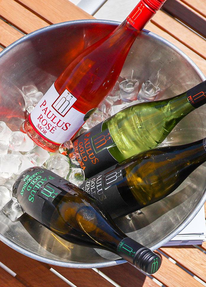 Paulus Borház teljes bor és pezsgő palettája a bormúzeum étteremben