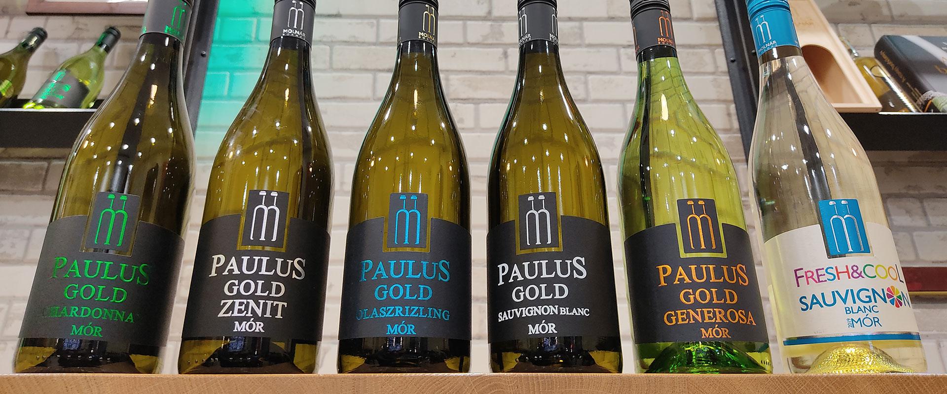 Vinagora nyertes Paulus borok